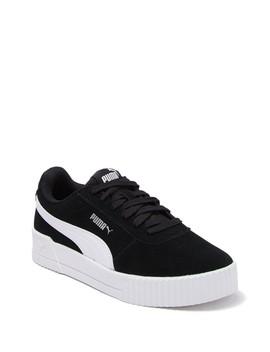Carina Suede Platform Sneaker by Puma
