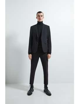 Super Skinny Fit Jacket by Zara