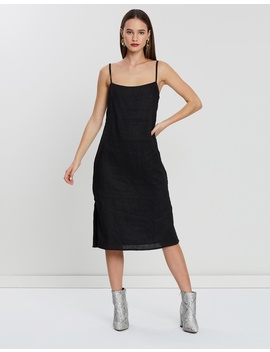 Valaree Midi Slip Dress by Isabelle Quinn