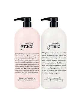 Philosophy Super Size Fragrance 3 In 1 Gel &Amp; Body Lotion Duo by Philosophy Includes: