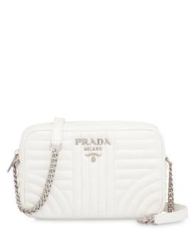 Prada Diagramme Leather Bag by Prada