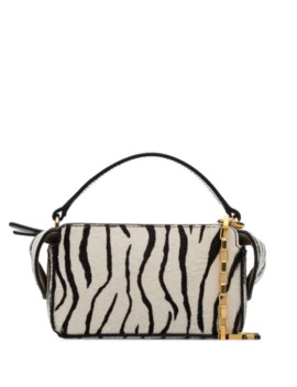 Zebra Print Mini Yara Box Bag by Wandler