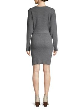 Tie Waist Sweater Dress by Vero Moda