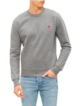 Crew Neck Sweatshirt by Ami