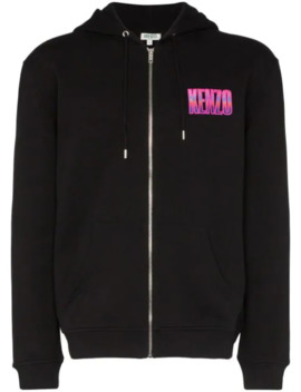 Mountain Embroidered Hoodie by Kenzo
