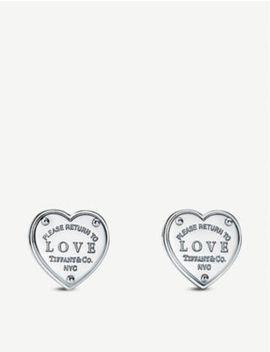 Return To Love Sterling Silver Earrings by Tiffany & Co