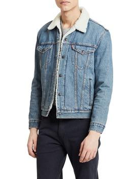 Type Iii Faux Shearling Lined Denim Trucker Jacket by Levi's®