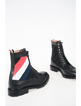 Quilted Boots by Thom Browne