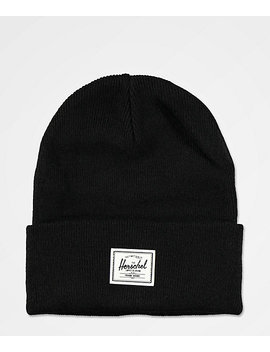 Herschel Supply Co. Elmer Black Beanie by Herschel Supply