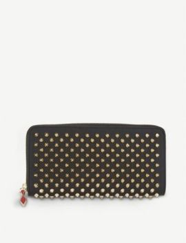 Panettone Leather Wallet by Christian Louboutin
