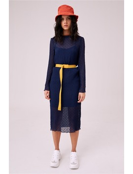 College Long Sleeve Dress by Bnkr