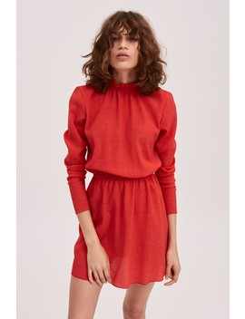 Pitch Long Sleeve Dress by Bnkr