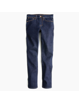 Petite Vintage Straight Jean In Rinse Wash by J.Crew