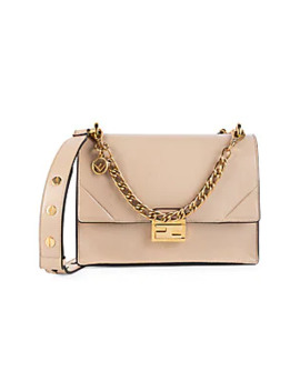Leather Satchel by Fendi