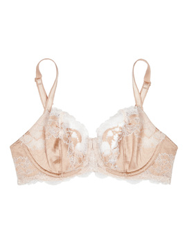 Lace Affair Blush Underwired Bra by Wacoal