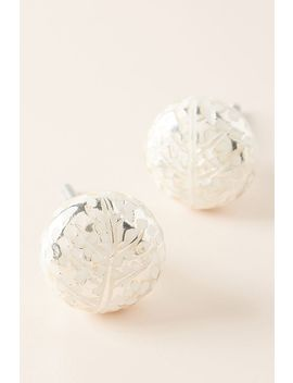Feather Imprint Knobs, Set Of 2 by Anthropologie
