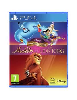 Disney's Aladdin & The Lion King Ps4 Game449/2975 by Argos
