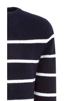 Striped Wool Sweater by Officine Générale