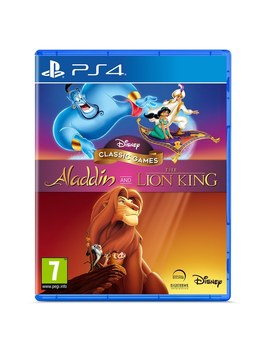 Disney Classic Games: Aladdin And The Lion King Ps4 by Smyths