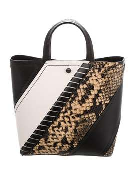 Exotic Patchwork Tote by Proenza Schouler