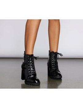 Bring The Edge Lug Booties by Windsor