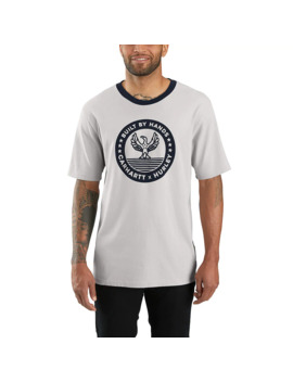 Hurley X Carhartt Men's Ringer Short Sleeve T Shirt by Carhartt