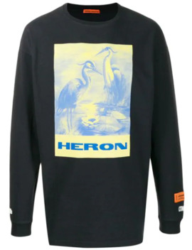 Heron Long Sleeved T Shirt by Heron Preston