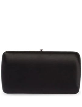 Satin Clutch by Prada