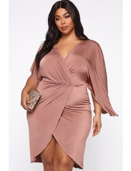 Crazy For You Midi Dress   Brick by Fashion Nova