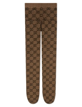 Gg Logo Tights by Gucci