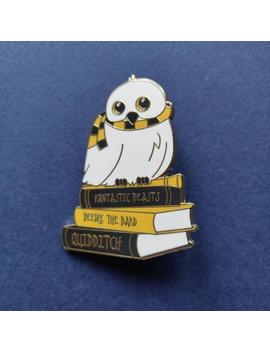 Snow Owl Pin | 1.96 1.57 Inch by Etsy