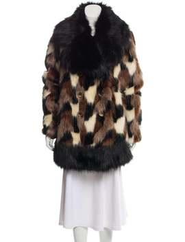 Fur Short Coat by Marc Jacobs