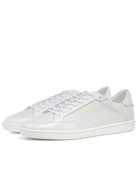 Saint Laurent Sl10 Court Perf Leather Sneaker by Saint Laurent