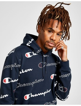 Champion All Over Print Hoodie by Jd Sports