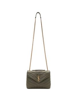 Green Medium Lou Lou Bag by Saint Laurent