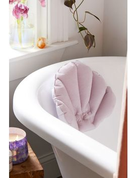 Seashell Bathtub Neck Pillow by Urban Outfitters