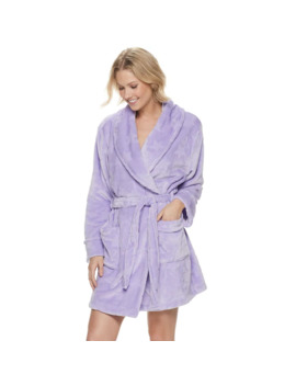 Women's Sonoma Goods For Life™ French Terry Short Robe by Sonoma Goods For Life