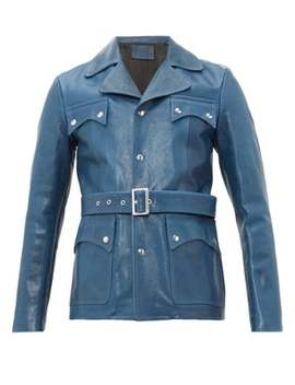 Belted Leather Jacket by Givenchy