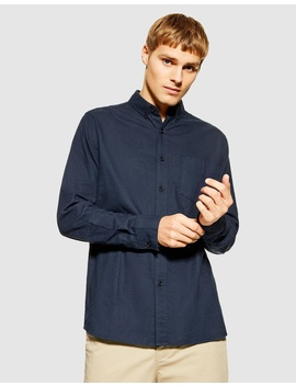 Button Down Slim Casual Shirt by Topman