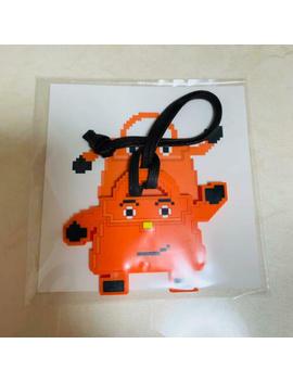 Hermes Kelly Doll Bag Charm Key Holder Orange Jingle Games Novelty Goods Mint by HermÈs