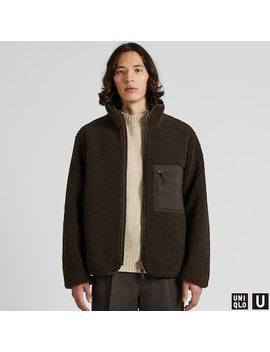 Men Uniqlo U Fleece Lined Reversible Jacket (8) by Uniqlo
