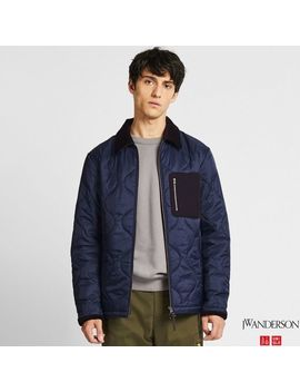 Men J.W.Anderson Quilted Blouson by Uniqlo