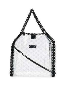 Transparent Falabella Shoulder Bag by Stella Mc Cartney