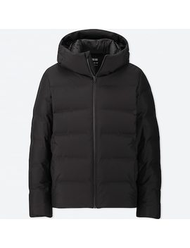 Men Seamless Down Hooded Parka (79) by Uniqlo