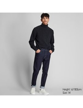 Men Premium Lambswool Turtleneck Jumper (18) by Uniqlo