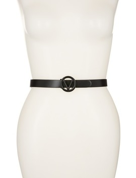 Baby Soave Leather Belt   Large by Valentino By Mario Valentino