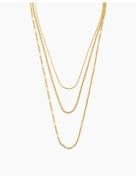 Heritage Chain Necklace Set by Madewell