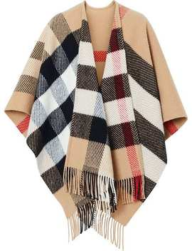 Kariertes Cape by Burberry