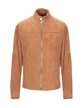 Leather Jacket by Michael Kors Mens