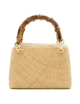Raffia Tote Bag by Serpui